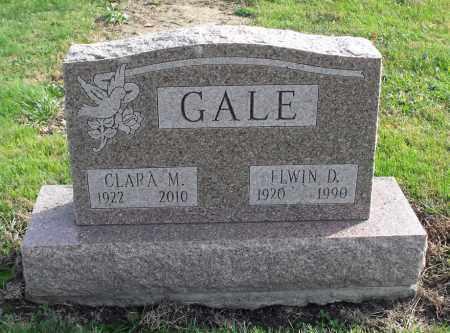 GALE, CLARA M. - Delaware County, Ohio | CLARA M. GALE - Ohio Gravestone Photos