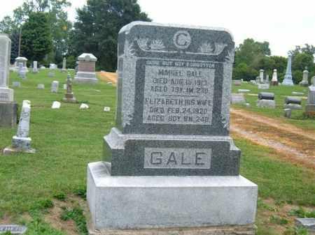 SHERMAN GALE, ELIZABETH - Delaware County, Ohio | ELIZABETH SHERMAN GALE - Ohio Gravestone Photos