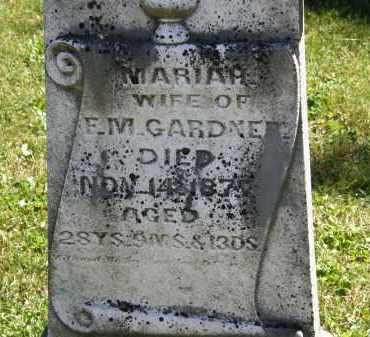 GARDNER, F.M. - Delaware County, Ohio | F.M. GARDNER - Ohio Gravestone Photos