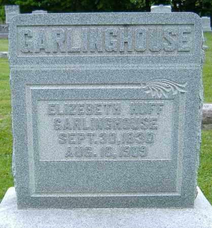 GARLINGHOUSE, ELIZABETH - Delaware County, Ohio | ELIZABETH GARLINGHOUSE - Ohio Gravestone Photos