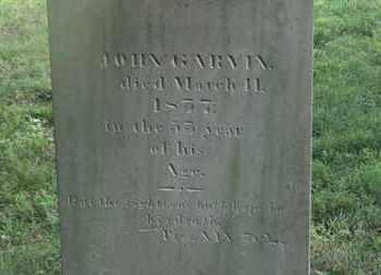 GARVIN, JOHN - Delaware County, Ohio | JOHN GARVIN - Ohio Gravestone Photos