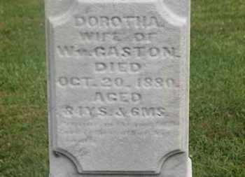GASTON, WM. - Delaware County, Ohio | WM. GASTON - Ohio Gravestone Photos