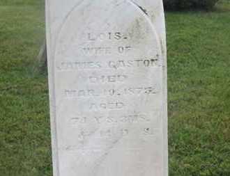 GASTON, LOIS - Delaware County, Ohio   LOIS GASTON - Ohio Gravestone Photos