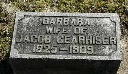 GEARHISER, BARBARA - Delaware County, Ohio | BARBARA GEARHISER - Ohio Gravestone Photos
