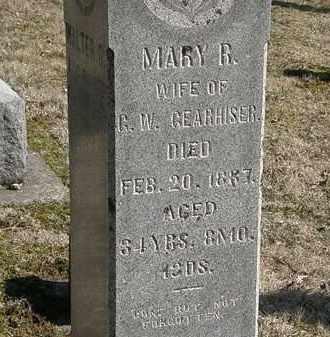 GEARHISER, G. W. - Delaware County, Ohio   G. W. GEARHISER - Ohio Gravestone Photos