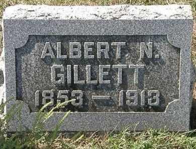 GILLETT, ALBERT N. - Delaware County, Ohio   ALBERT N. GILLETT - Ohio Gravestone Photos