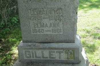 GILLETT, ELIZABETH - Delaware County, Ohio   ELIZABETH GILLETT - Ohio Gravestone Photos