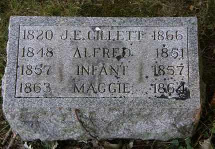 GILLETT, J.E. - Delaware County, Ohio | J.E. GILLETT - Ohio Gravestone Photos