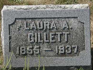 GILLETT, LAURA A. - Delaware County, Ohio | LAURA A. GILLETT - Ohio Gravestone Photos