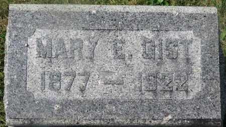 GIST, MARY E. - Delaware County, Ohio   MARY E. GIST - Ohio Gravestone Photos