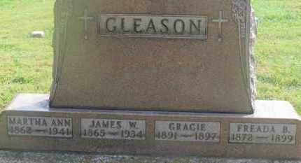 GLEASON, MARTHA ANN - Delaware County, Ohio | MARTHA ANN GLEASON - Ohio Gravestone Photos