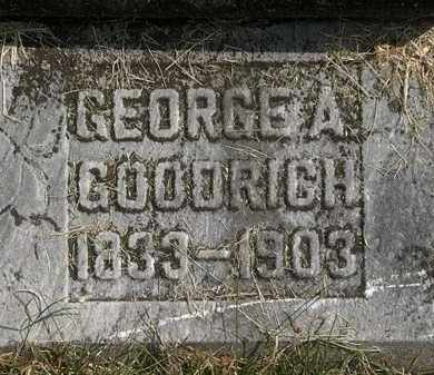 GOODRICH, GEORGE A. - Delaware County, Ohio   GEORGE A. GOODRICH - Ohio Gravestone Photos