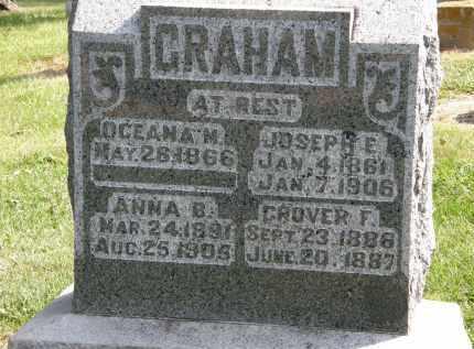 GRAHAM, GROVER F. - Delaware County, Ohio | GROVER F. GRAHAM - Ohio Gravestone Photos