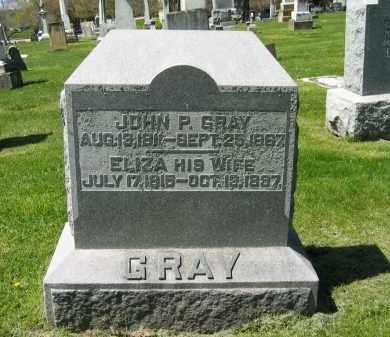 GRAY, JOHN P. - Delaware County, Ohio | JOHN P. GRAY - Ohio Gravestone Photos