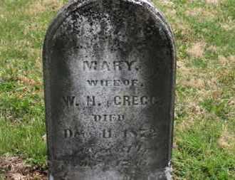 GREGG, MARY - Delaware County, Ohio | MARY GREGG - Ohio Gravestone Photos