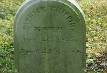 GRIFFIN, PATRICK - Delaware County, Ohio | PATRICK GRIFFIN - Ohio Gravestone Photos
