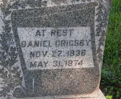 GRIGSBY, DANIEL - Delaware County, Ohio   DANIEL GRIGSBY - Ohio Gravestone Photos