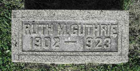 GUTHRIE, RUTH M. - Delaware County, Ohio | RUTH M. GUTHRIE - Ohio Gravestone Photos