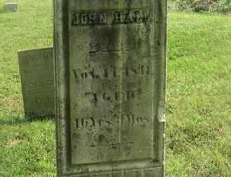 HALL, JOHN - Delaware County, Ohio   JOHN HALL - Ohio Gravestone Photos