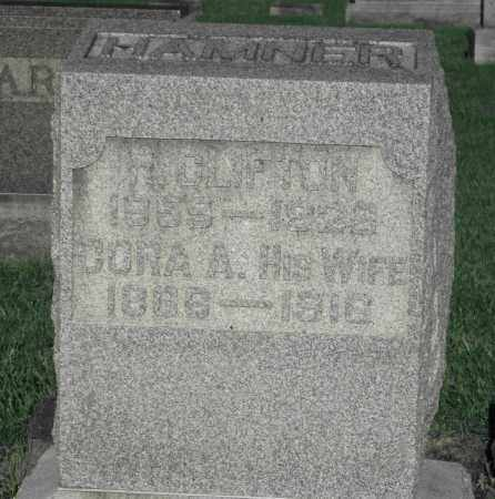 HAMNER, CORA A. - Delaware County, Ohio | CORA A. HAMNER - Ohio Gravestone Photos