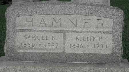 HAMNER, SAMUEL N. - Delaware County, Ohio | SAMUEL N. HAMNER - Ohio Gravestone Photos