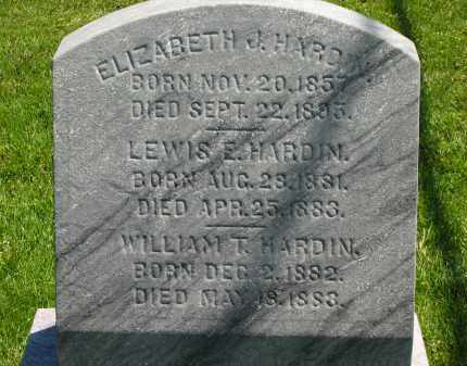 HARDIN, ELIZABETH J. - Delaware County, Ohio | ELIZABETH J. HARDIN - Ohio Gravestone Photos