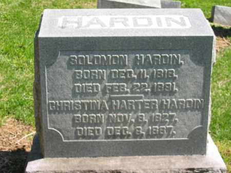 HARDIN, SOLOMON - Delaware County, Ohio | SOLOMON HARDIN - Ohio Gravestone Photos
