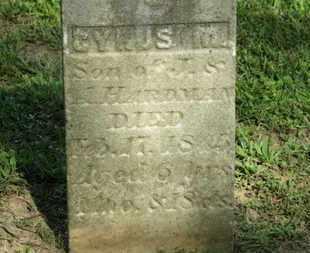 HARDMAN, A. - Delaware County, Ohio   A. HARDMAN - Ohio Gravestone Photos