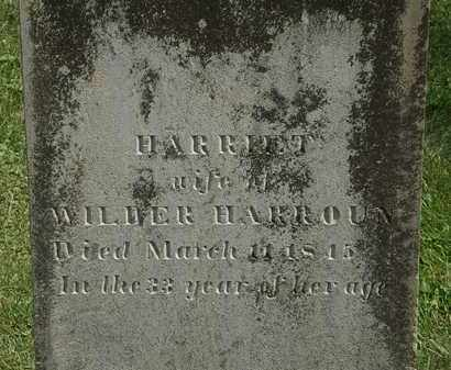 HARROUN, WILDER - Delaware County, Ohio | WILDER HARROUN - Ohio Gravestone Photos