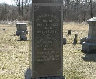 HAUCK, EVA - Delaware County, Ohio | EVA HAUCK - Ohio Gravestone Photos