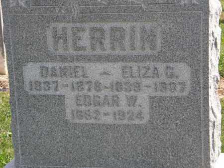 HERRIN, EDGAR W. - Delaware County, Ohio   EDGAR W. HERRIN - Ohio Gravestone Photos