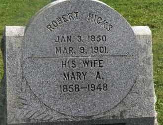 HICKS, MARY A. - Delaware County, Ohio | MARY A. HICKS - Ohio Gravestone Photos