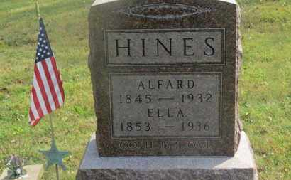 HINES, ELLA - Delaware County, Ohio | ELLA HINES - Ohio Gravestone Photos
