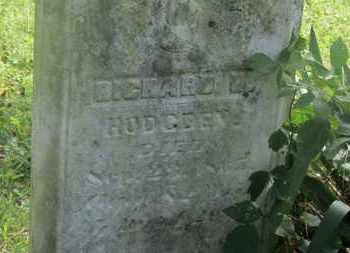 HODGDEN, RICHARD H. - Delaware County, Ohio | RICHARD H. HODGDEN - Ohio Gravestone Photos