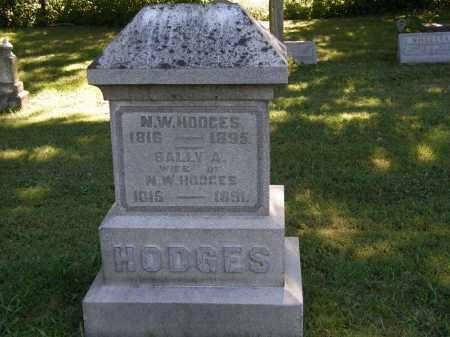 HODGES, N.W. - Delaware County, Ohio | N.W. HODGES - Ohio Gravestone Photos