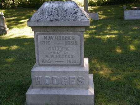 HODGES, SALLY A. - Delaware County, Ohio | SALLY A. HODGES - Ohio Gravestone Photos