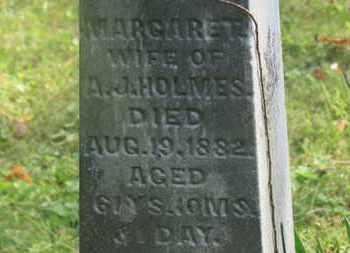 HOLMES, MARGARET - Delaware County, Ohio | MARGARET HOLMES - Ohio Gravestone Photos
