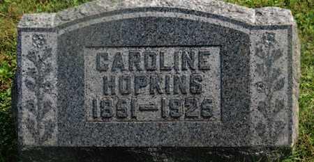HOPKINS, CAROLINE - Delaware County, Ohio | CAROLINE HOPKINS - Ohio Gravestone Photos