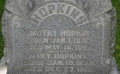 HOPKINS, MARY - Delaware County, Ohio | MARY HOPKINS - Ohio Gravestone Photos
