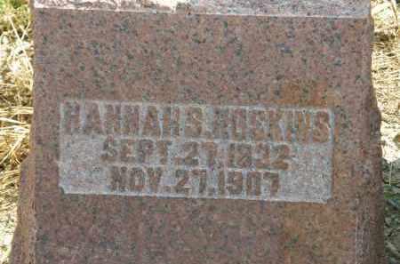 HOSKINS, HANNAH S. - Delaware County, Ohio   HANNAH S. HOSKINS - Ohio Gravestone Photos