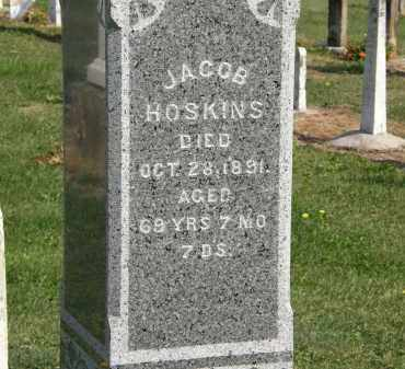 HOSKINS, JACOB - Delaware County, Ohio | JACOB HOSKINS - Ohio Gravestone Photos