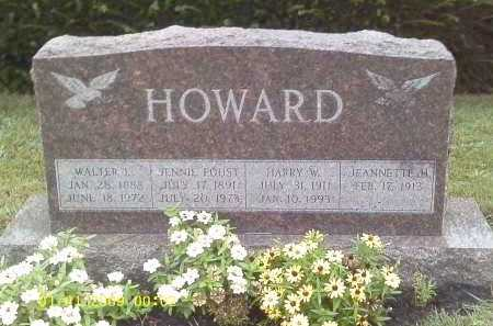HOWARD, HARRY W. - Delaware County, Ohio | HARRY W. HOWARD - Ohio Gravestone Photos