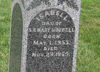 HUBBELL, ISABELL - Delaware County, Ohio | ISABELL HUBBELL - Ohio Gravestone Photos