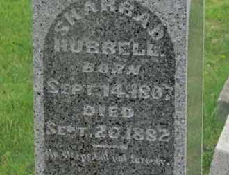 HUBBELL, SHARRAD - Delaware County, Ohio   SHARRAD HUBBELL - Ohio Gravestone Photos