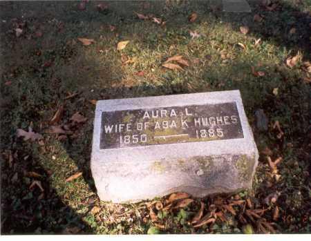 TURNER HUGHES, AURA L. - Delaware County, Ohio | AURA L. TURNER HUGHES - Ohio Gravestone Photos