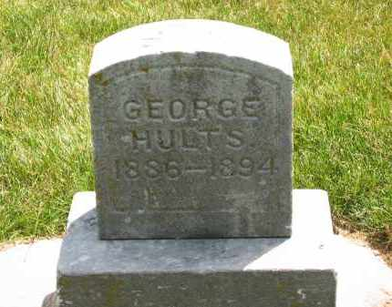 HULTS, GEORGE - Delaware County, Ohio | GEORGE HULTS - Ohio Gravestone Photos