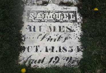 HUMES, SAMUEL - Delaware County, Ohio | SAMUEL HUMES - Ohio Gravestone Photos