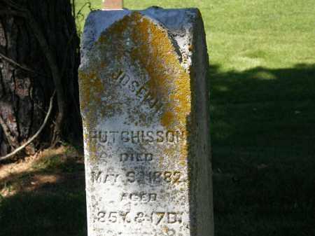 HUTCHISSON, JOSEPH - Delaware County, Ohio   JOSEPH HUTCHISSON - Ohio Gravestone Photos