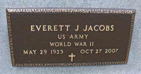 JACOBS, EVERETT J. - Delaware County, Ohio   EVERETT J. JACOBS - Ohio Gravestone Photos