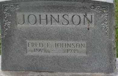 JOHNSON, FRED L. - Delaware County, Ohio   FRED L. JOHNSON - Ohio Gravestone Photos